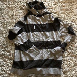 Men's stripes hoodie